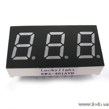 "0.40"" Triple Digit Numeric Displays"