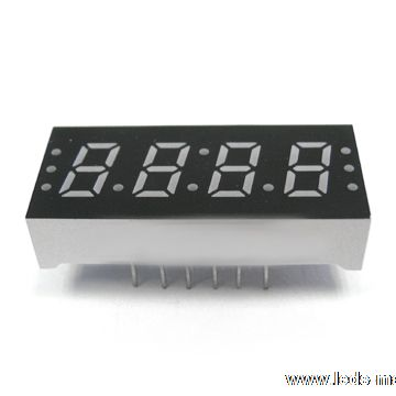 "0.30"" Quadruple Digit Numeric Displays"