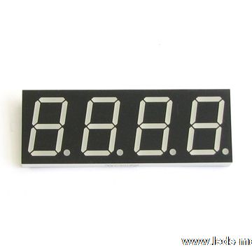 "0.80"" Quadruple Digit Numeric Displays"