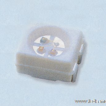1.90mm Height 1411 Package Top View Super Yellow Chip LED